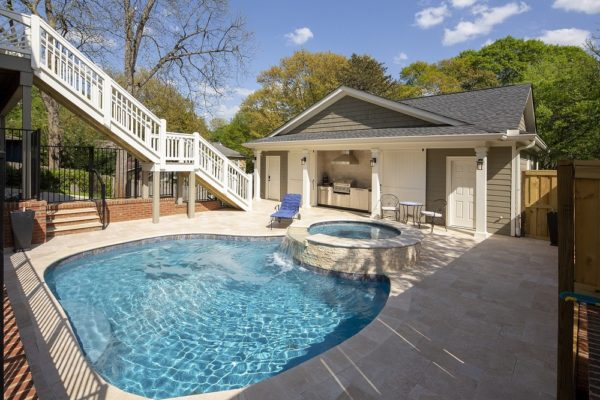 Atlanta Pool & Carriage House Potter Design Build