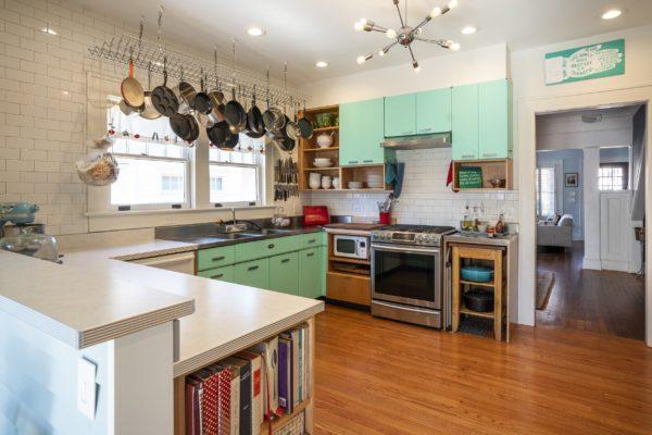 Adair Park Atlanta Retro Kitchen Remodel